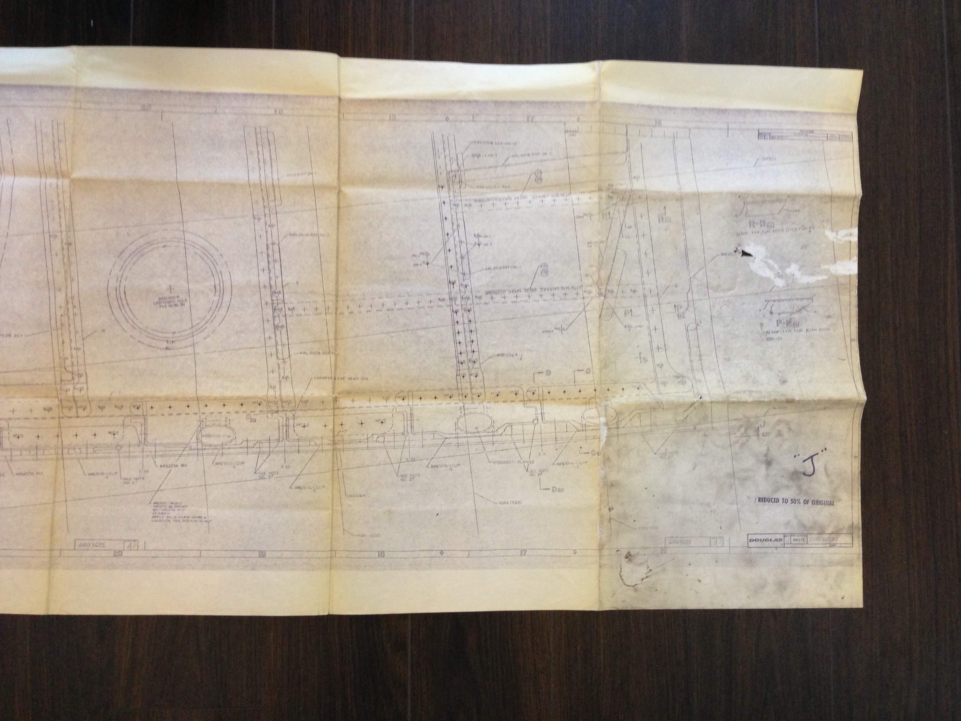 Awesome find of the week douglas aircraft blueprint rust awesome find of the week douglas aircraft blueprint malvernweather